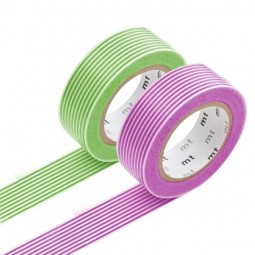 Masking Tape - Border, green & Border, purple