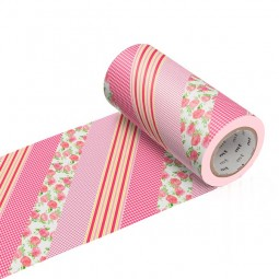 Masking Tape Casa - Flower red