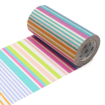 Masking Tape Casa - Multi Border Pastel