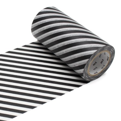 Masking Tape Casa - Stripe Black