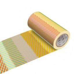 Masking Tape Casa - Stripe checked red