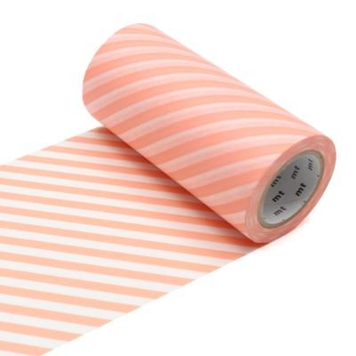 Masking Tape Casa - Stripe Salmon Pink