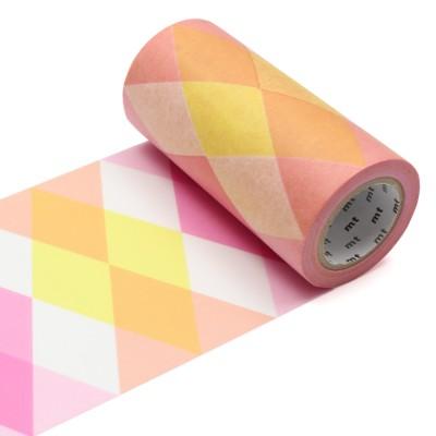 Masking Tape Casa - Triangle and Diamond Pink