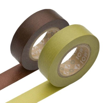 Masking Tape - Chocolate & Warabi