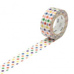 Masking Tape - Colorful Dot