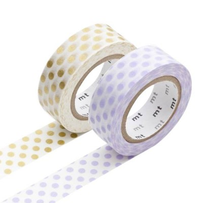 Masking Tape - Dot, usufuji & Dot, gold