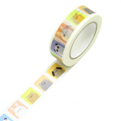 Masking Tape Doubutsu