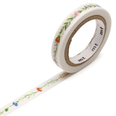 Masking Tape - Flower Line