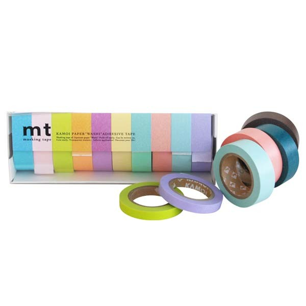 masking tape helle farben c sets masking tape modernes japanwelt. Black Bedroom Furniture Sets. Home Design Ideas