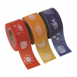 Masking Tape - Kids color: Red, Yellow & Blue