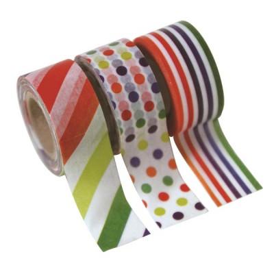 Masking Tape - Kids colorful: Stripe, Dot & Border