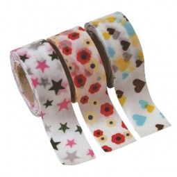Masking Tape - Kids motif: Flower, Heart & Star