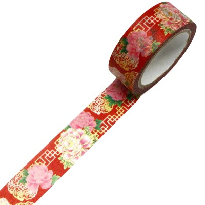 Masking Tape 'Kimono-Muster' China Botan