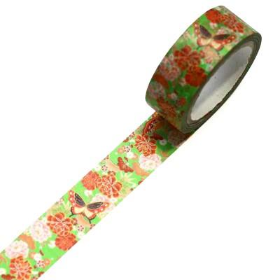 Masking Tape 'Kimono-Muster' Chou to Hana