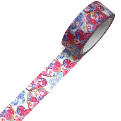 Masking Tape 'Kimono-Muster' Hana Arashi