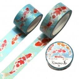 Masking Tape 'Kimono-Muster' Koi