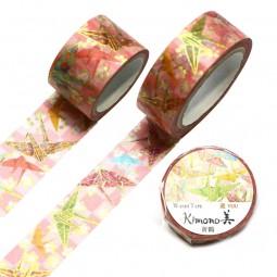 Masking Tape 'Kimono-Muster' Orizuru