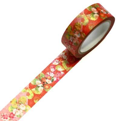 Masking Tape 'Kimono-Muster' Sakura Kisetsu