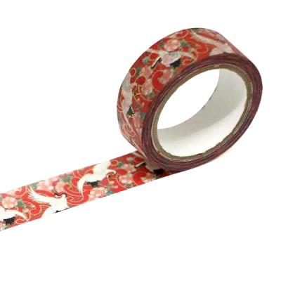 Masking Tape 'Kimono-Muster' Tsuru