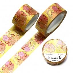 Masking Tape 'Kimono-Muster' Yukiwa Ume
