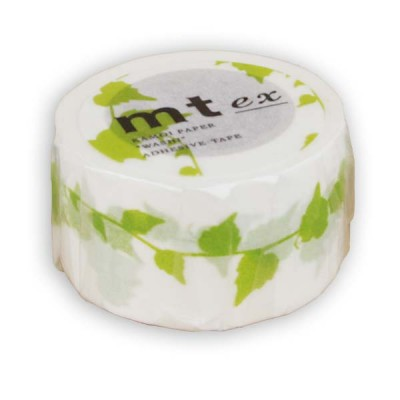 Masking Tape - Leaf, yellow green