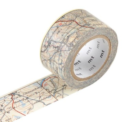Masking Tape - Map