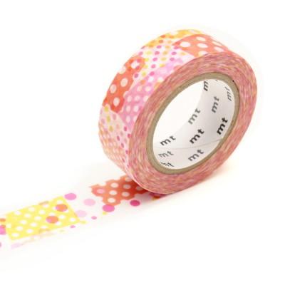 Masking Tape - Negapoji Dot Pink