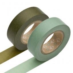 Masking Tape - Olive & Aotake
