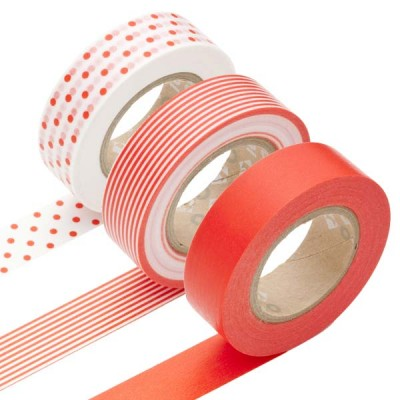Masking Tape - Triple Orange