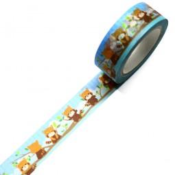 Masking Tape Red Panda