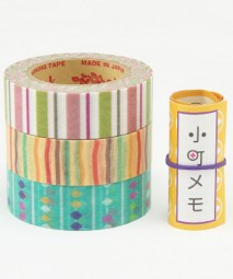 Masking Tape - Rink Tape Triple Pack Komachi Shima-Soroban