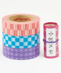 Masking Tape - Rink Tape Triple Pack Komachi Teiban