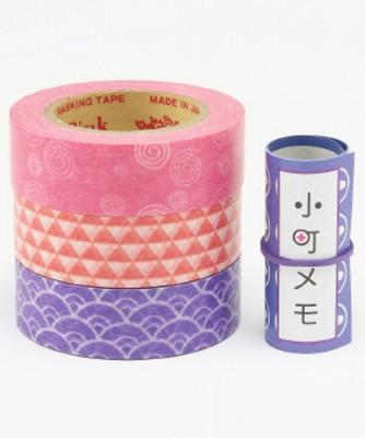 Masking Tape - Rink-Tape Dreierpack 'Komachi Umi'