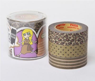 Masking Tape - Rink-Tape Dreierpack 'Roll Mansion Celeb'