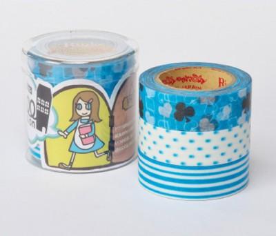 Masking Tape - Rink-Tape Dreierpack 'Roll Mansion Dowa'