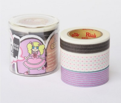 Masking Tape - Rink-Tape Dreierpack 'Roll Mansion Lolita'