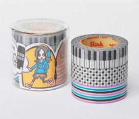Masking Tape - Rink Tape Triple Pack Roll Mansion Otonashi