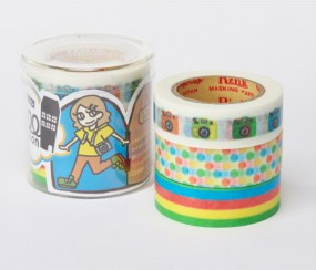 Masking Tape - Rink Tape Triple Pack Roll Mansion Shashin
