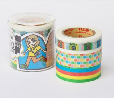 Masking Tape - Rink-Tape Dreierpack 'Roll Mansion Shashin'