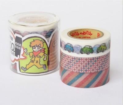 Masking Tape - Rink-Tape Dreierpack 'Roll Mansion Taiya'