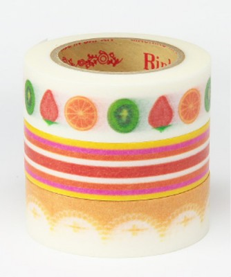 Masking Tape - Rink-Tape Dreierpack 'Sweet Fruits Tart'