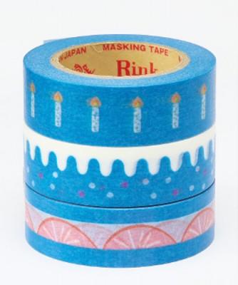 Masking Tape - Rink-Tape Dreierpack 'Sweet Ice Cake'