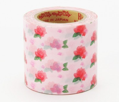 Masking Tape - Rink-Tape Wide 'Flower Pink'