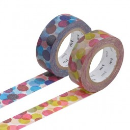 Masking Tape - Spot, wine & Spot, blue