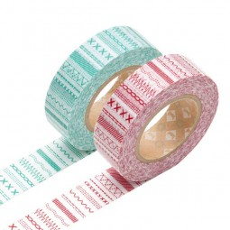 Masking Tape - Stich, red & Stich, green