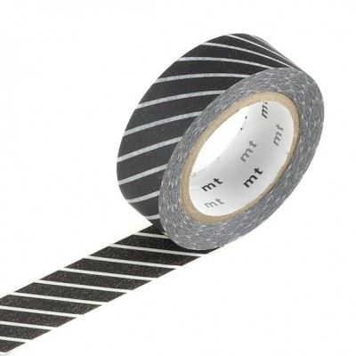 Masking Tape - Stripe Black