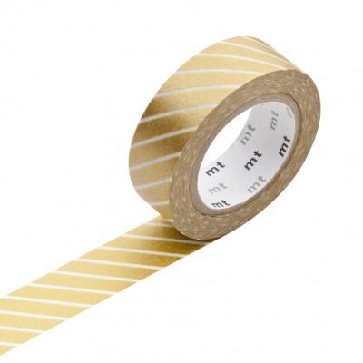 Masking Tape - Stripe Gold