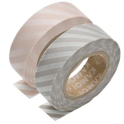 Masking Tape - Stripe momo & Stripe sakuranezu