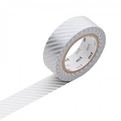 Masking Tape - Stripe Silver