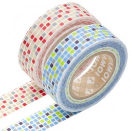 Masking Tape - Tile, red & Tile, blue